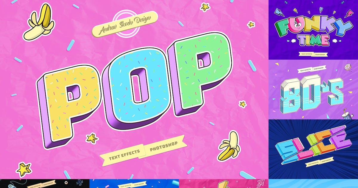 Download Pop Art Text Effects by Sko4
