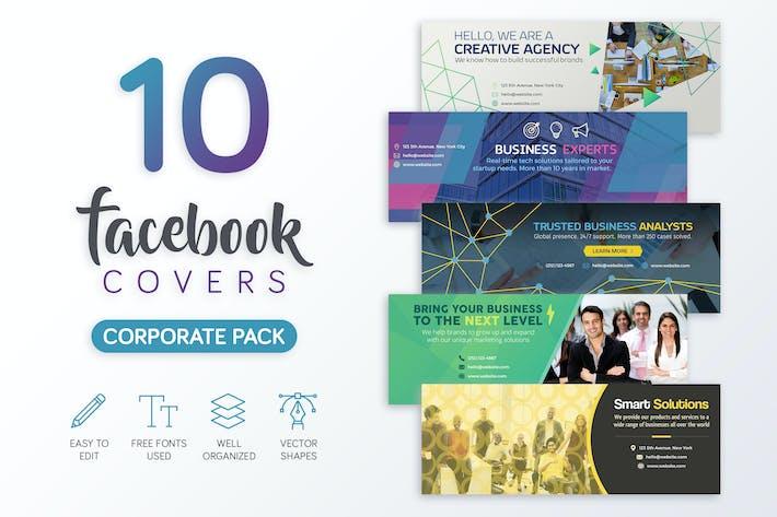 Thumbnail for Корпоративный обложка Facebook
