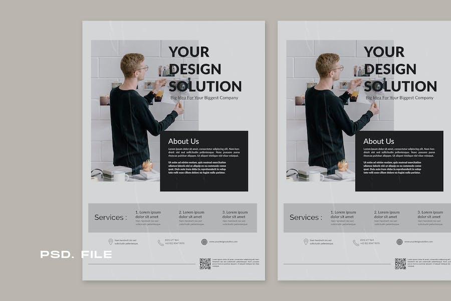 Design Solution Flyer