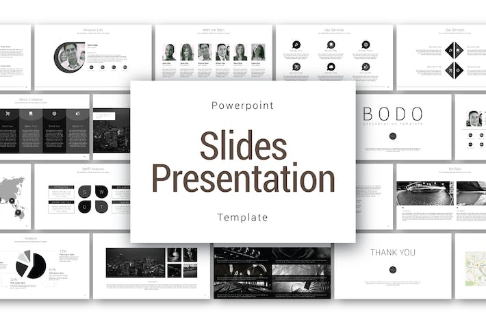 Thumbnail for Bodo Powerpoint Template