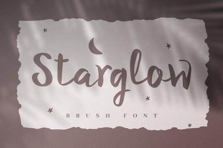 Thumbnail for Starglow - Bold Handwritten Script Font