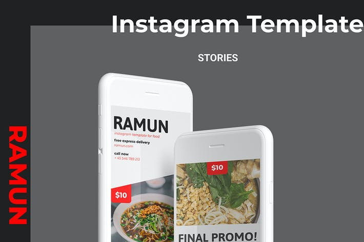 Cover Image For Ramun - Ramen Food Social Media Story Part 10
