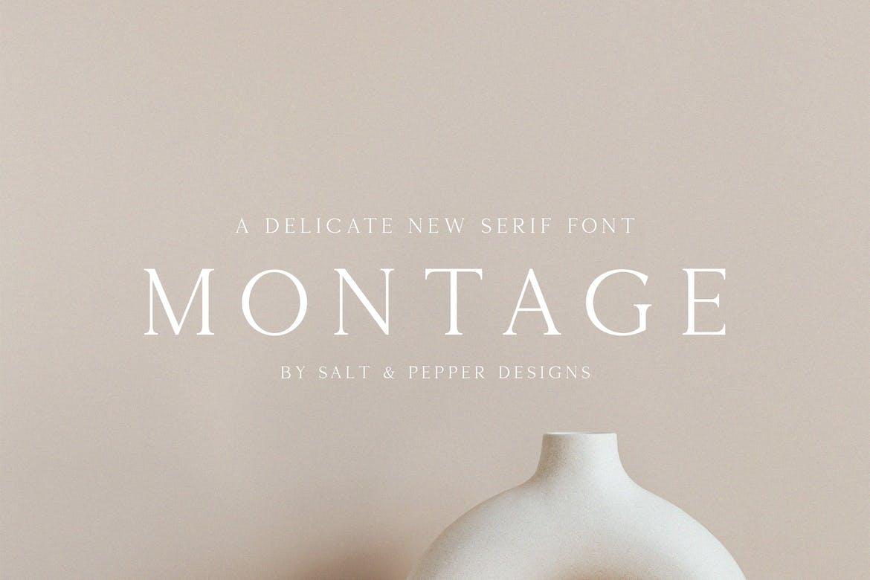 Montage-Serif-Font
