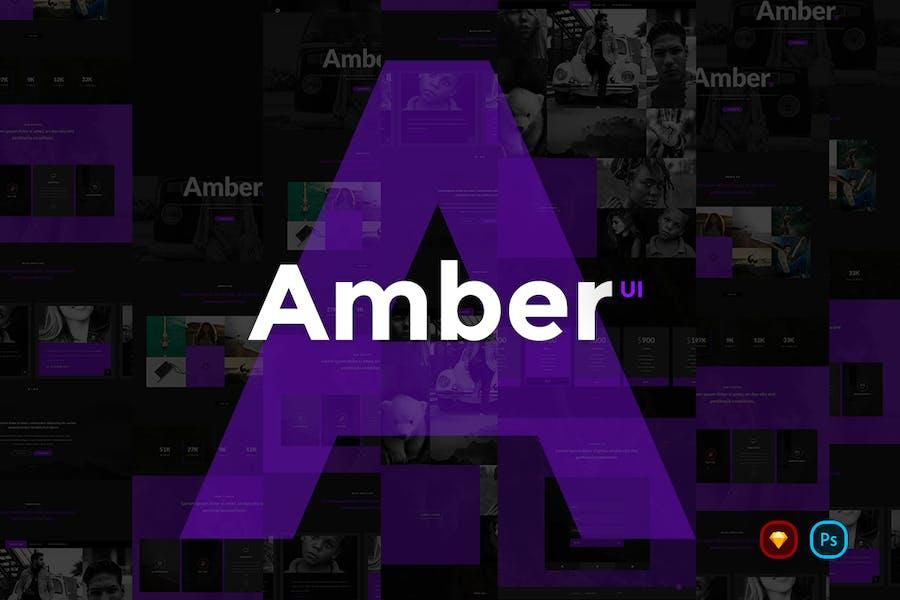 Kit d'interface utilisateur Ambre