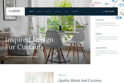 Gardis | Blinds and Curtains Studio & Shop WP