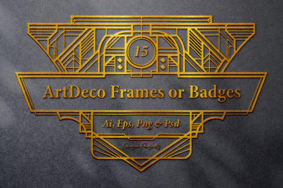 15 Frames - Art Deco Ornament
