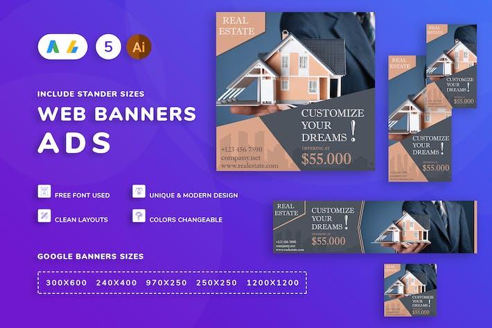 Thumbnail for Real Estate Banner