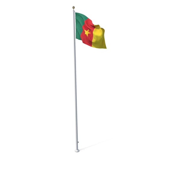 Thumbnail for Flag On Pole Cameroon