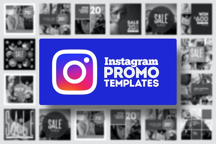 Thumbnail for Instagram Promo Templates