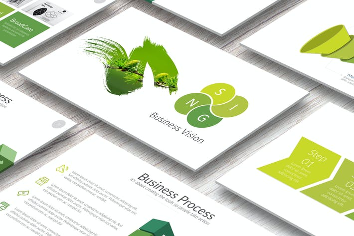 Elite Business Powerpoint by Artmonk on Envato Elements