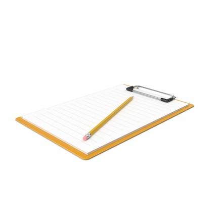 Notepad & Pencil