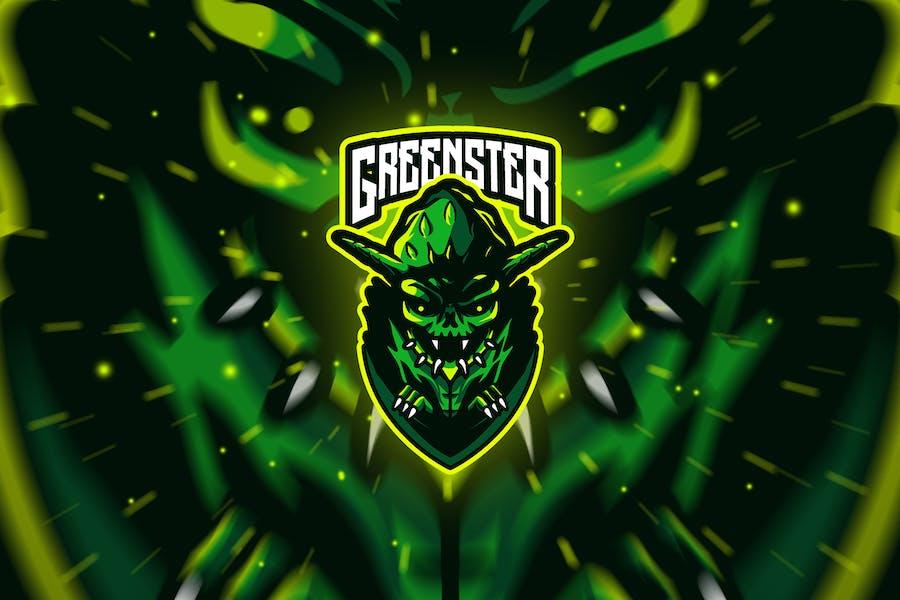 greenster - Mascot & Esport Logo