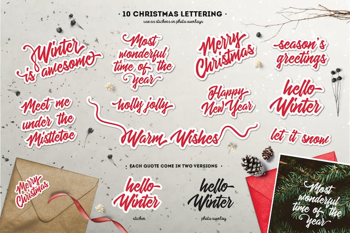 Thumbnail for 10 Christmas Lettering