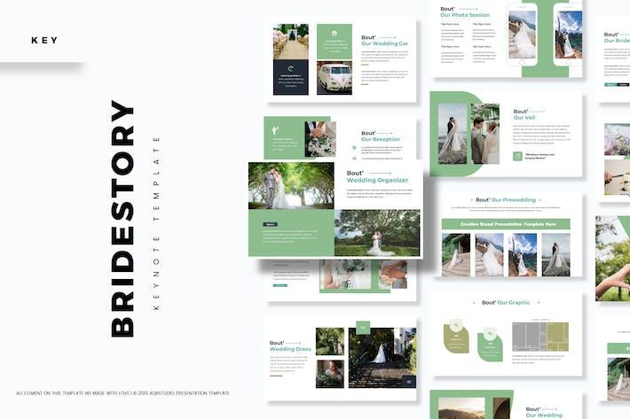 Thumbnail for История невесты - Шаблон Keynote