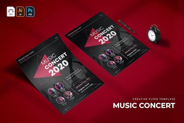 Music Concert | Flyer