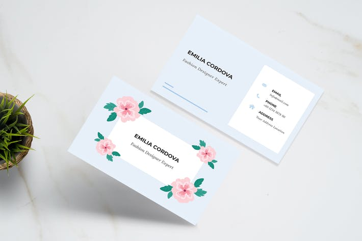 Thumbnail for Floral Business Card