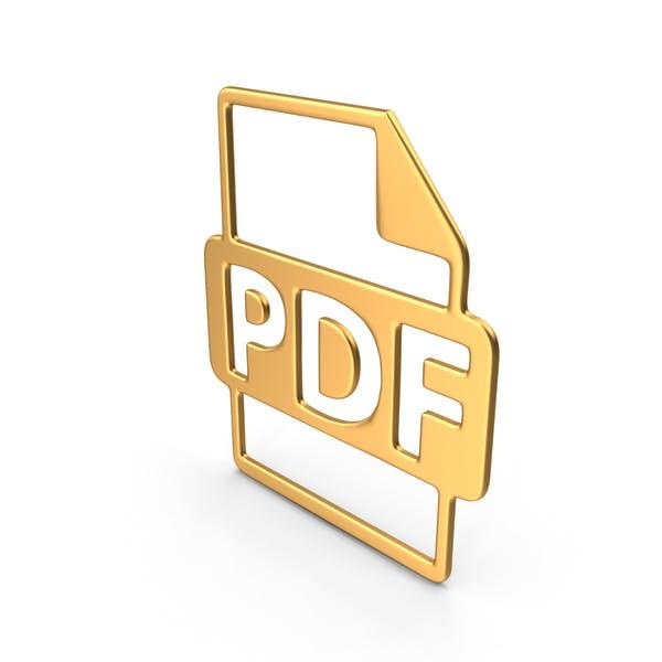 Thumbnail for PDF Symbol Gold