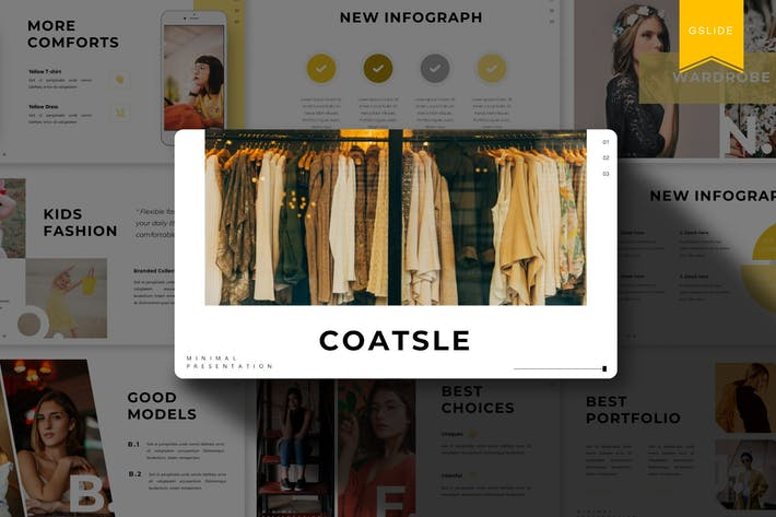 Thumbnail for Coatsle | Google Slides Template
