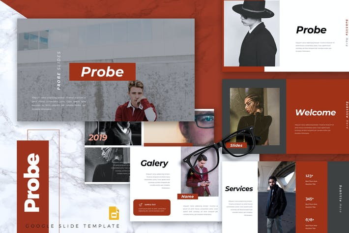 Thumbnail for PROBE - Creative Google Slides Template