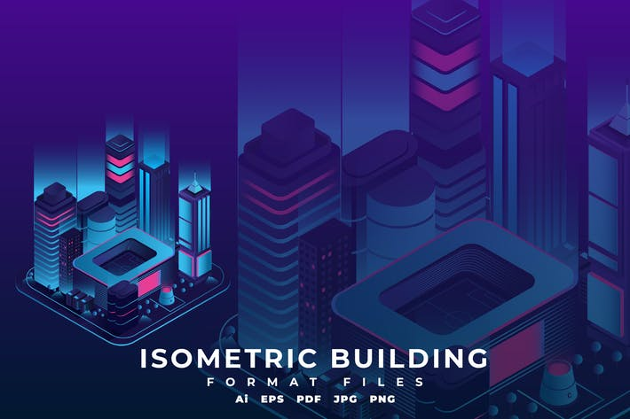 Thumbnail for Isometric Building