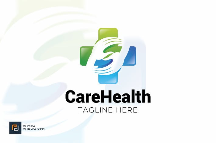 Thumbnail for Care Health - Logo Template