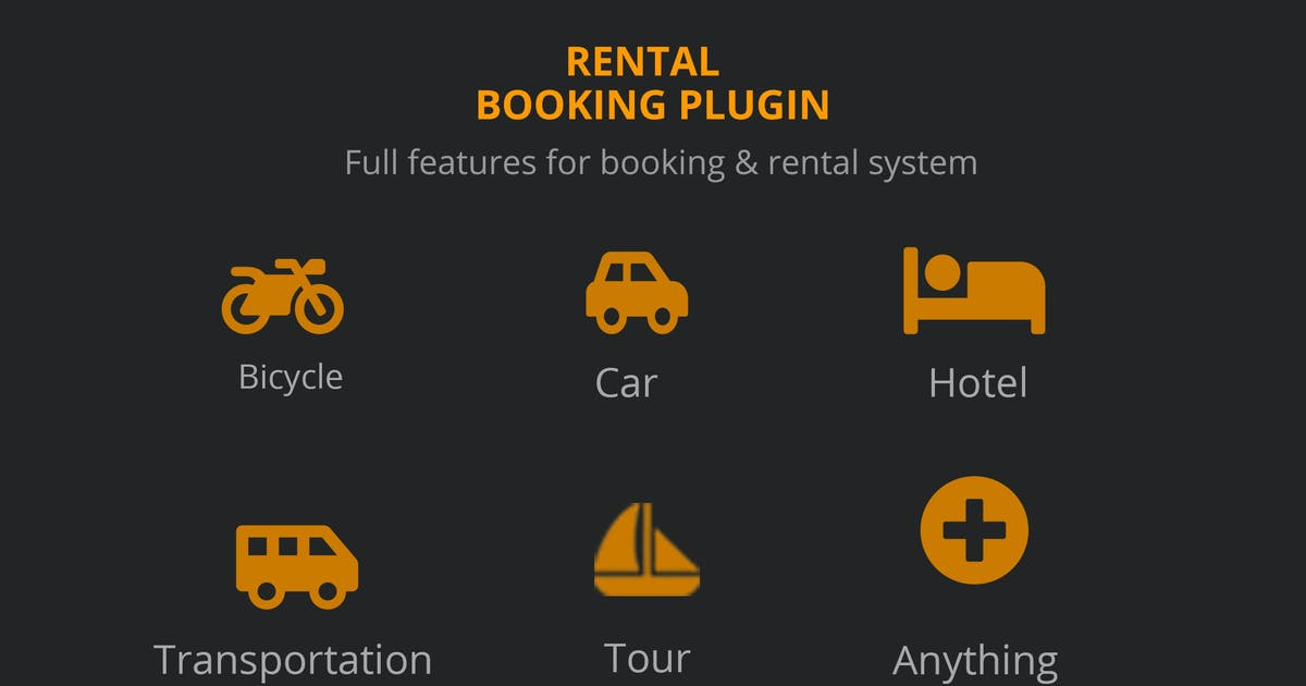 Download Rental Booking Plugin Woocommerce - BRW by ovatheme
