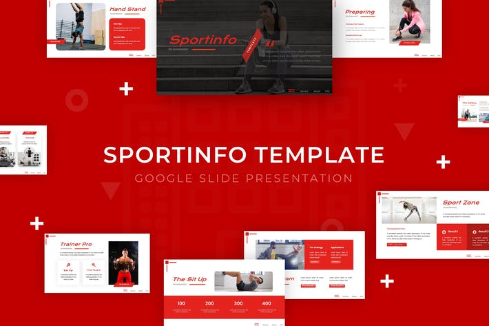 Thumbnail for Sportinfo - Google Slide Template