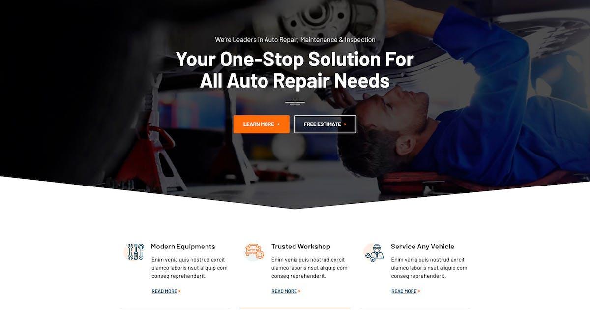 Download Cardan - Car Repair Services PSD Template by Templines
