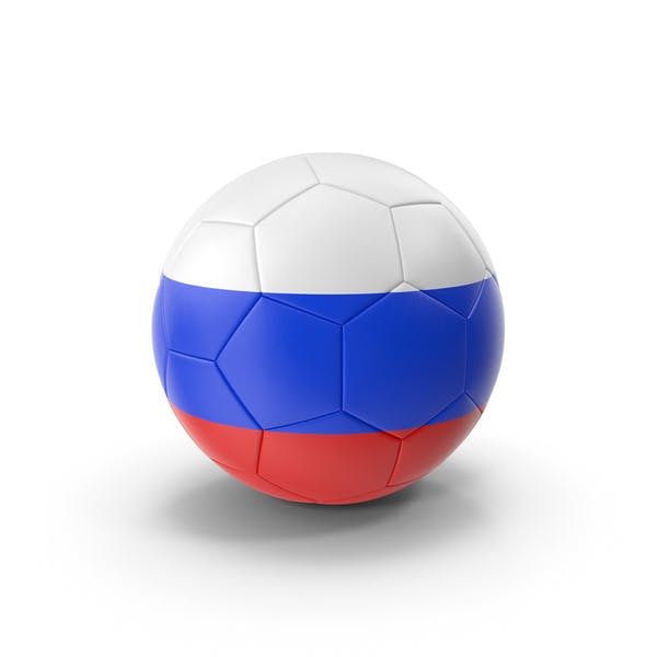 Thumbnail for Russian Flag Soccer Ball