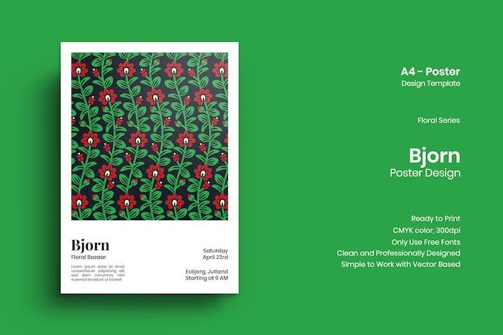 Thumbnail for Bjorn Poster Design