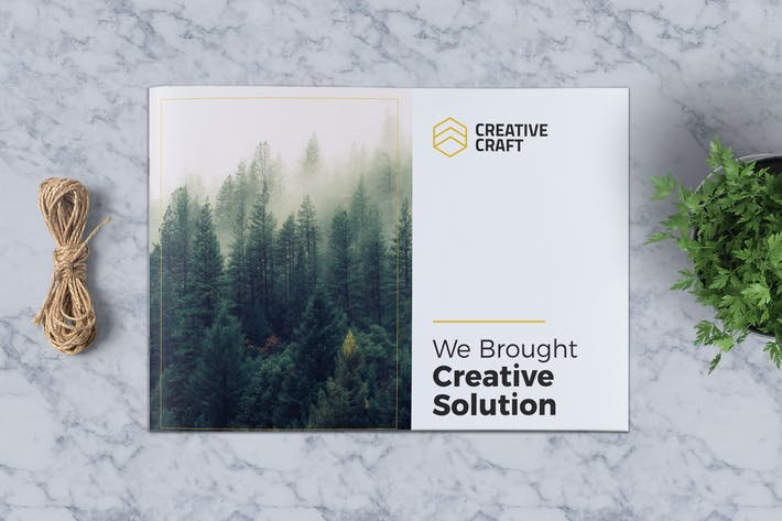 Thumbnail for Creative Brochure Template A5 Vol. 04
