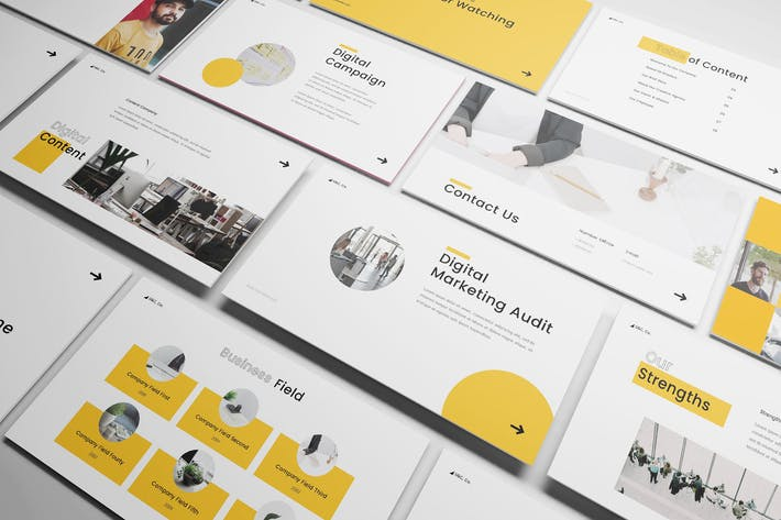 Thumbnail for Company Profile Powerpoint Template