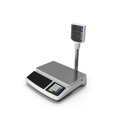 Электронный весы магазина