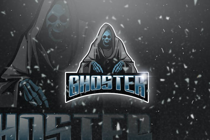 Thumbnail for Ghoster - Mascot & Esport Logo