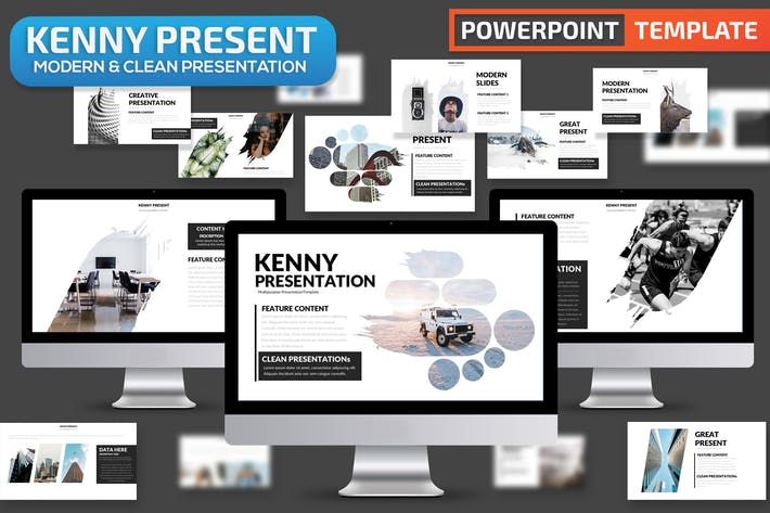 Thumbnail for Kenny Powerpoint Presentation Template