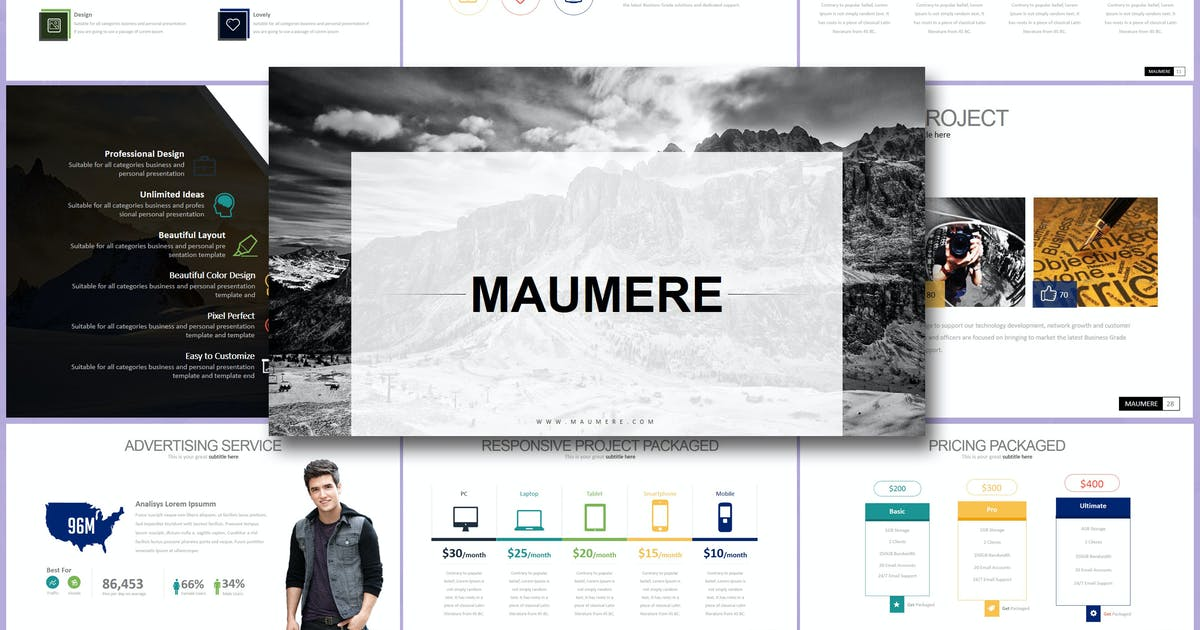 Download MAUMERE Keynote by Artmonk