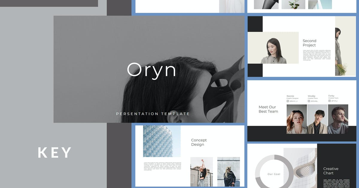 Download Oryn - Keynote Template by putra_khan