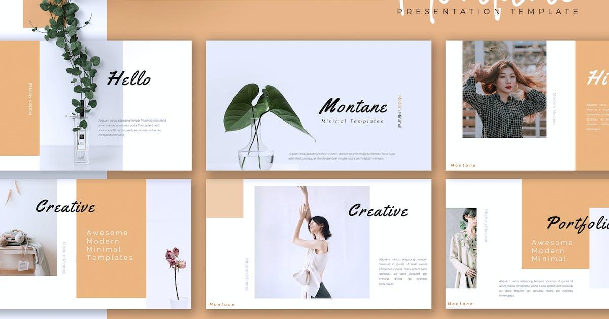 Download MONTANE - Creative Powerpoint/Google Slide/Keynote by RahardiCreative