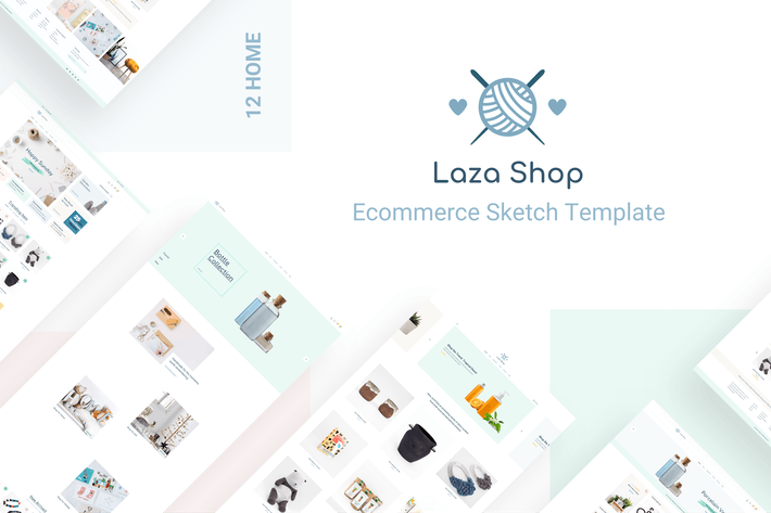 Thumbnail for Laza - Craft Shop Sketch Template