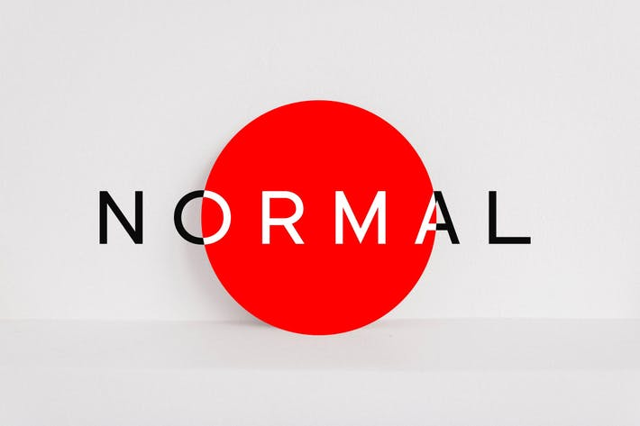 Thumbnail for NORMAL - Minimalista Sans Con serifa Tipo de letra + WebFonts