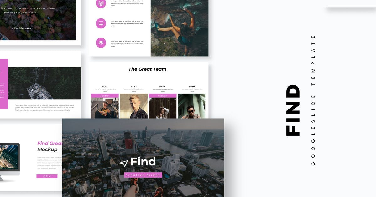 Download Find - Google Slide Template by aqrstudio