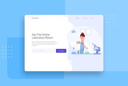 Compose medical resources website header