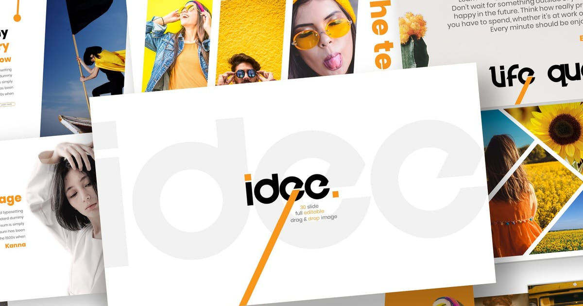 Download Idee - Powerpoint Template by inspirasign