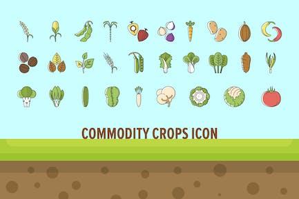 Commodity Crops Icon