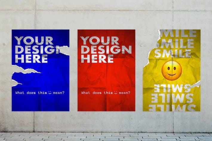 Urban Poster Wall Mockup