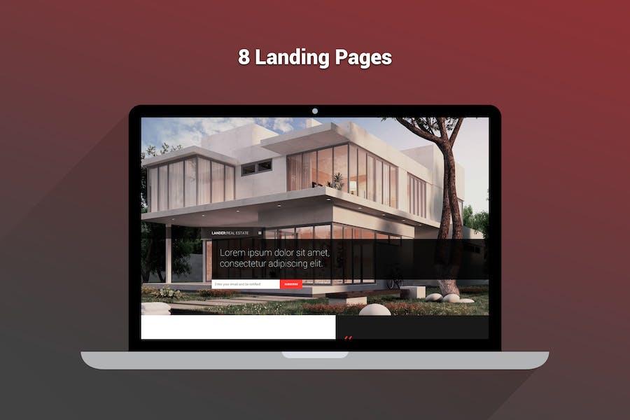 Lander - Multipurpose Landing HTML Pages