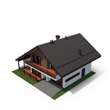 Haus im Schieferstil