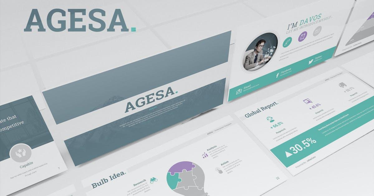 Agesa Keynote Template by Unknow