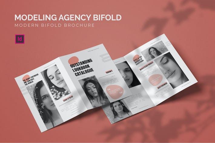 Thumbnail for ModelAgentur - Bifold Broschüre