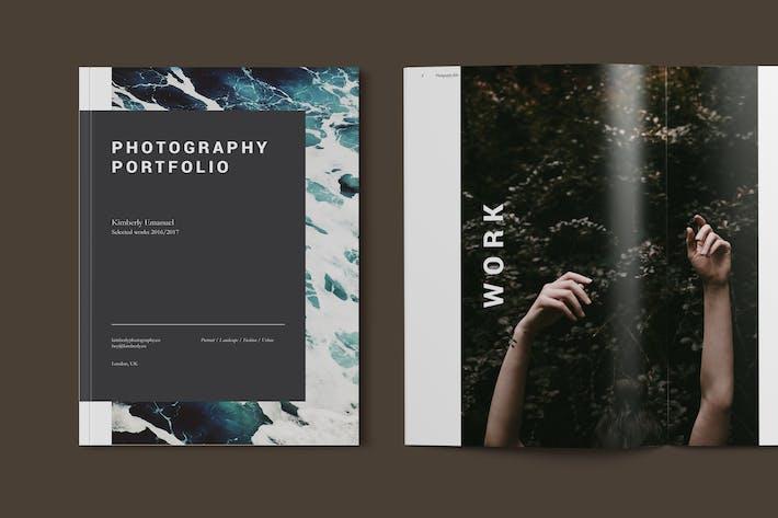 Photography Portfolio Brochure Template
